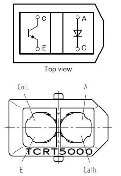 TCRT5000 Schematic Diagram